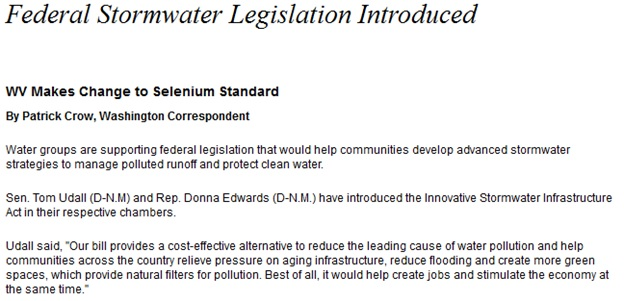 Federal Stormwater