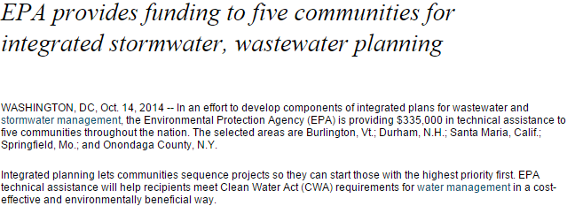 epa-provides-technical-assistance-to-five-communities-for-integrated-stormwater-wastewater-project-planning